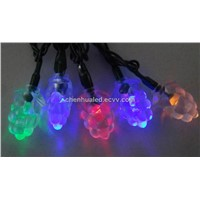 20 LED hoilday christmas decoration string light with mulberry