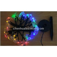 20 LED holiday christmas decoration string light with butterfly