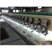 24 head  single cording and sequin  embroidery machine