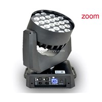 24pcs 4in1 LED Stage Light/Led Moving Head Light with Zoom
