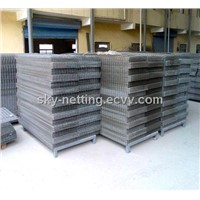2'' Mesh Size 3mm Galvanized Welded Wire Mesh Panel/Galvanized / PVC Coated