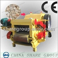 3-4Tons wood branch crusher with high efficient