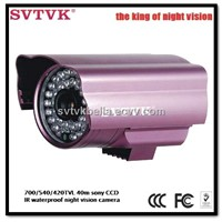 420/540/700TVL 1/3 sony CCD 50m bullet infrared night vision security cctv cameras