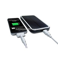 6000mAh solar charger for iPad, iPhone,iPod,cellphones,digital cameras,Mp3/Mp4,PSP,PDAs