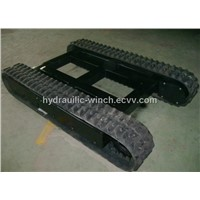 6 ton rubber track undercarriage