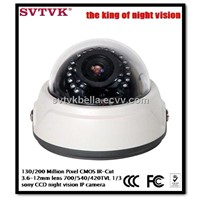 720P dome security IP camera