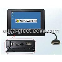 "7"" Embedded All In One PC with OS WinCE 6.0/Linux 2.6.32"