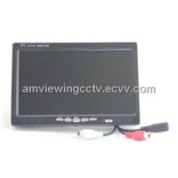 7'' LCD Monitor,Aspect Ratio 16:9 Mini LCD Monitor,7inch Mini CCTV Monitor