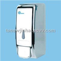 800ml Manual Foam Soap Dispenser chromeplate