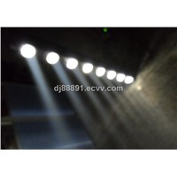 8*10w Beam LED 8 Scan Head Bar Light