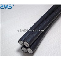 Al Conductor PVC/XLPE/PE Insulated 11KV ABC Cable/ABC electrical cable wire
