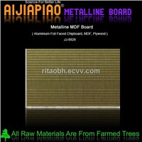 Aluminum foil faced mdf board