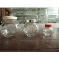 Aromatherapy glass bottle jam glass jar glass bird's nest essential oil glass bottle