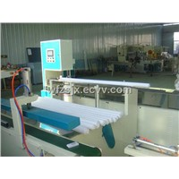 Automatic toilet paper roll cutting machine