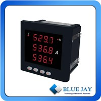 BJ-193I-9X4 Three Phase Current Meter  amp hour meter  analog panel meter