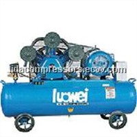 Belt driven piston one-stage air cooled mobile air compressor W-0.90/8