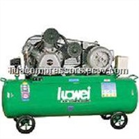 Belt driven two stage air-cooled mobile air compressor W-0.80/12.5