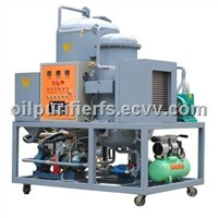 Black diesel oil purifying machine, Used motor oil regeneration Purifier