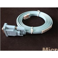 Brand New VGA Flat RJ45 To DB9 Cable