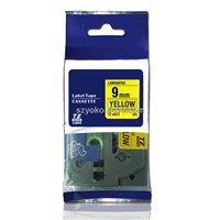 Brother compatible tape tz 621 black/yellow