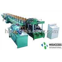 C/U profile roll forming machine