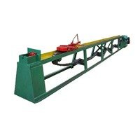 Chain -type drawing machine