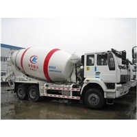 Chinese concrete mixing carrier,cement mixer truck