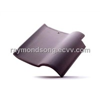 Clay roof tile, Terracotta Tile Spanish Roof tile-Steel Grey