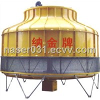 Cooling Tower with 5 to 1000T Capacity, Made of FRP, Low Noise
