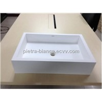 Countertop Solid Surface Sink PB2103