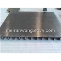 Curved and Flat wedge wire Screens for water system