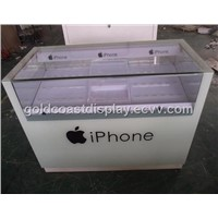 Customized glass show cases for smartphones -SC3011