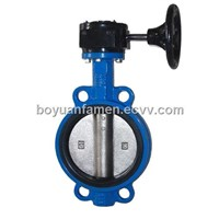 D371/3X/F/H Butt-Clamped Turbine-Driven Three-Butterfly Valve