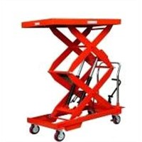 Double Scissor Doule Cylinder Lift Table