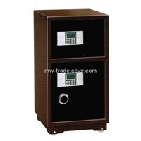 Double doors electronic safebox