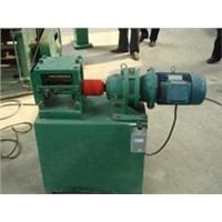 Double roller wire drawing machine