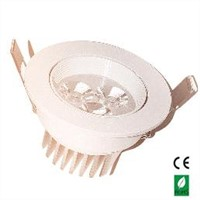 European Style 3W LED Ceiling Spotlight of Input Voltage AC85-265V