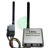 FPV Remote Wireless Audio Video Transmitter/Sender and Receiver 5.8Ghz 400mW
