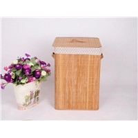 Falx Fabric Liner Foldable Bamboo laundry basket