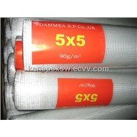 Fiberglass wire mesh for wall material