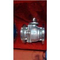 Flange-Connection Floating Ball Valve