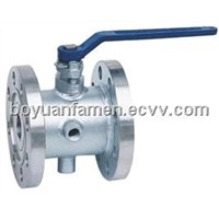 Flange-Connection Heating Ball Valve
