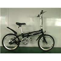 Folding Electrically Bicycle