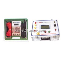 Geodetic network ground resistance tester