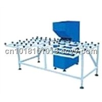 Glass edge polishing machine in real state@construction