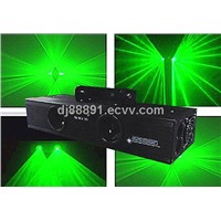Green Double Tunnel Stage Laser Lighting Projector