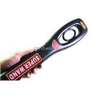 Handheld Metal Detector with 9V Battery Suitable for Working 40 Hours, LED Light Warning