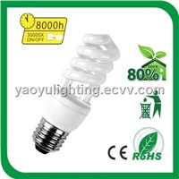 High Quality 11w Half Spiral Energy Saving Lamp YYHSP33