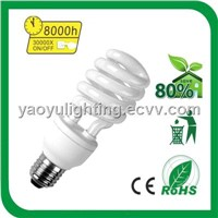 High Quality 15W Half Spiral Energy Saving Lamp
