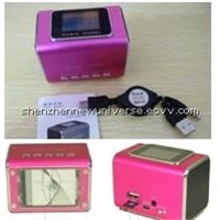 Hot sell Card reader mini speaker MD05X
